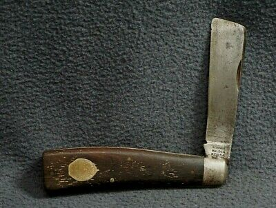 + VTG RARE SCHRADE WALDEN NY U.S.A. 163 WALL ROPE Folding Knife +