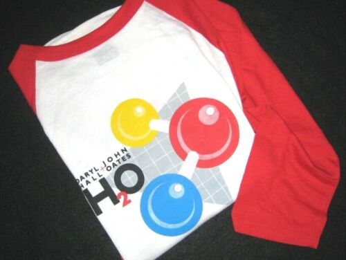 """HALL& OATES ORIGINAL VINTAGE  """"H20"""" Tour (3/4 sleeve) T-Shirt from 1983"""