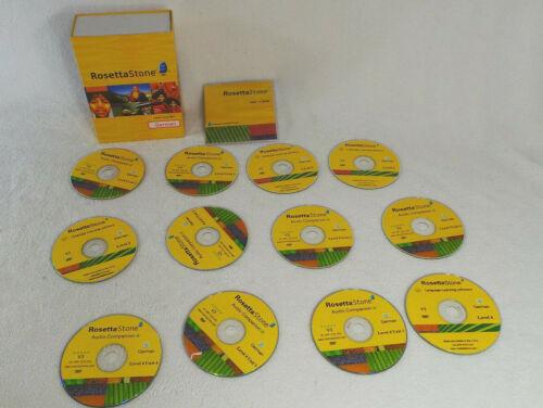 Education/Easy/New Language/RosettaStone German Levels (12 CDs)