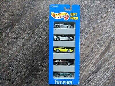 Hot Wheels 1990's Ferrari 5 Pack Gift Set