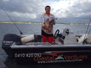 4.9m 70HP tinny with Garmin 55DV & bimini for HIRE Runaway Bay Gold Coast North Preview