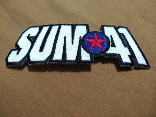 Sum 41 - Band Patch - 2001 - C & D Visionary - Rare