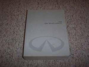 1998 Infiniti QX4 Factory Shop Service Repair Manual 3.3L V6