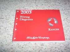 2003 Ford Ranger Electrical Wiring Diagram Manual XL XLT ...