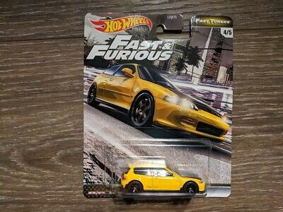 Hot Wheels 2020 Premium Fast & Furious Fast Tuners Honda Civic EG