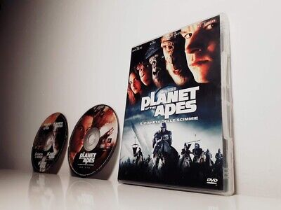 PLANET OF THE APES Wahlberg Tim Burton Roth (2001) EDIZIONE SPECIALE FOX 2 DVD