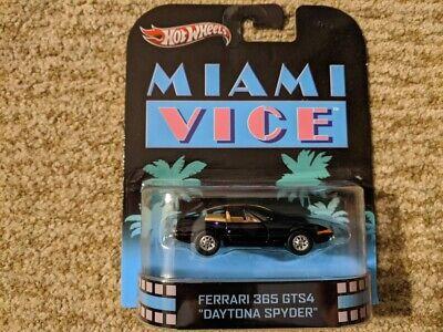 Hot Wheels 2012 Retro Entertainment Miami Vice Ferrari 365 GTS4