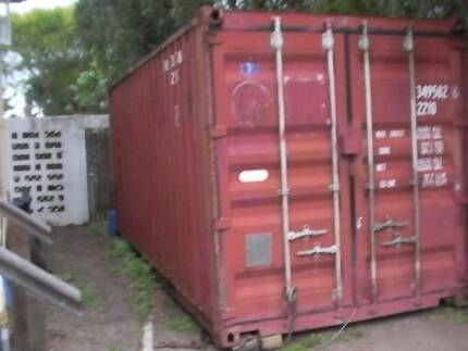 shipping container 20 ft Banyo Brisbane North East Preview