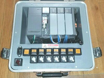 Allen Bradley Plc 1747-demo-3 Slc 500 Training Kit 1747-pt1 W 1747-c10 Cable