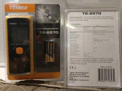 Tenma Laser Distance Meter 72-2570