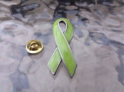 SUPPORT LOVE ONES 1 LITE GREEN RIBBON 1 PIN AWARENESS