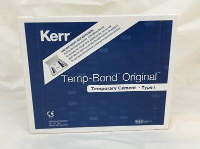 Temp Bond Original Kerr Temporary Cement Dental Type I