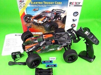 Reely Core Brushed 1:10 XS RC Modellauto Elektro Truggy Allradantrieb RtR 2,4GHz