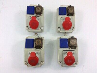 Baustromverteiler Wandverteiler TD-S/FI 16A 32A 4x230V SKH Kabel 5x4mm2