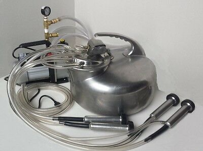 Usa Made Complete Surge Milking Machine-cow-goat-sheep-new 13 Hp Vacuum Pump