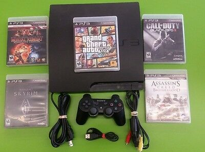 Playstation 3 Ps3 120Gb  160Gb  With Controller And Games