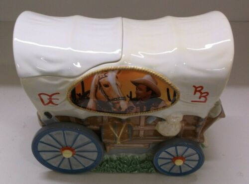 COLLECTIBLE ROY ROGERS CHUCK WAGON LIMITED EDITION 627/2400 COOKIE JAR