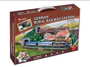 Brand New Sealed Cubicfun 3D Puzzle German Rural Railway Station Waterloo Inner Sydney Preview