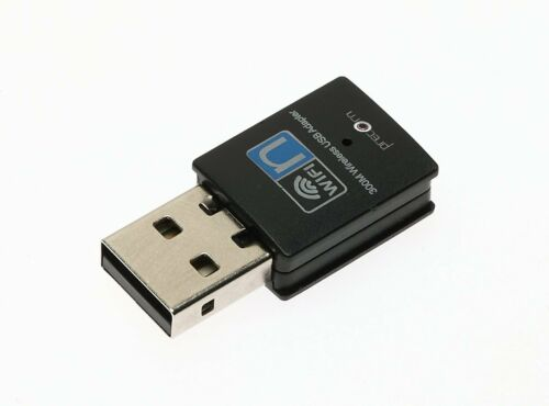 WLAN Stick Wireless USB Adapter 300 Mbit/s Mini | Wireless LAN | USB 2.0 Stick