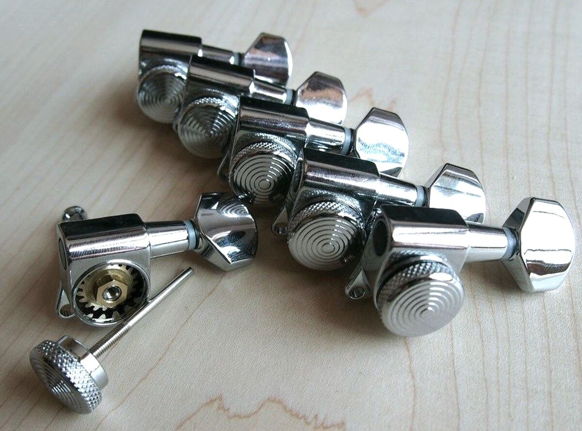 lock wilkinson 6r chrome guitar locking tuners jn 07 sp fits fende strat tele. Black Bedroom Furniture Sets. Home Design Ideas
