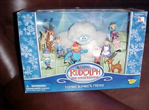 RUDOLPH THE RED NOSE REINDEER HUMBLE BUMBLE AND FRIENDS COLLECTION