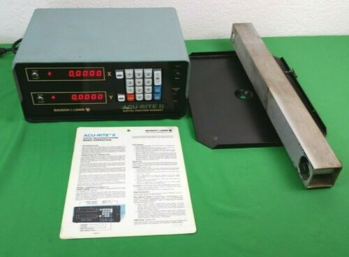 ACU-RITE II DIGITAL POSITIONING READOUT DISPLAY BAUSCH & LOMB