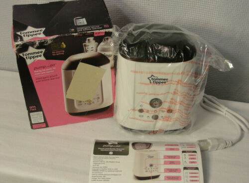 Tommee Tippee Pump and Go Intelligent Pouch Baby Bottle Warmer System -NEW