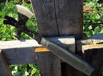 Wilderness Survival Hatchet emergency 3 in 1 hammer gear tool camping hiking axe