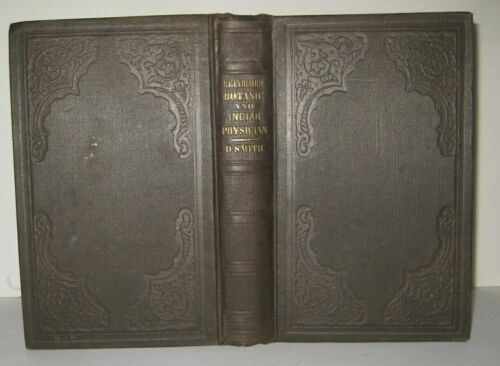 RARE ✅ INDIAN PHYSICIAN_BOTANICAL_HERBS_HOMEOPATHY MEDICINE_HUNTING_ANTIQUE BOOK
