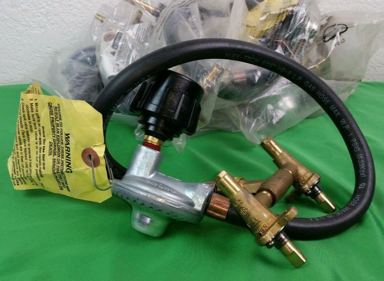 Sunbeam Grillmaster Liquid Propane Twin Valve w/ Regulator B