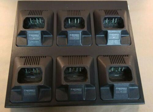 Genuine Motorola Radius HTN9164A UHTN9164 6-Bay Multi Unit Rapid Charger OEM