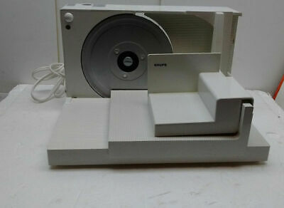 Krups Type 371 Fold-up Electric Lunch Meat Cheese Food Slicer Deli Style White
