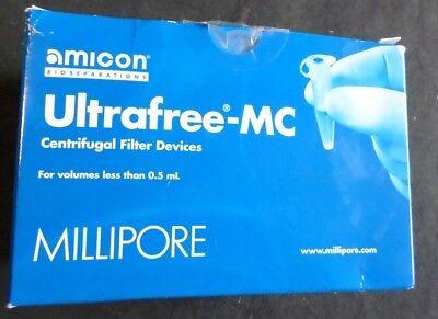 48 Millipore Amicon Ultrafree-mc Centrifugal Filter Devices 0.5ml Ufc3bqk00