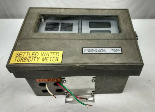 GLI Great Lakes Instruments Model 95 Settled Water Turbidity Meter