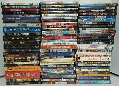 DVD LOT #2 - Pick from Various  Action, Drama Family/ TV Shows
