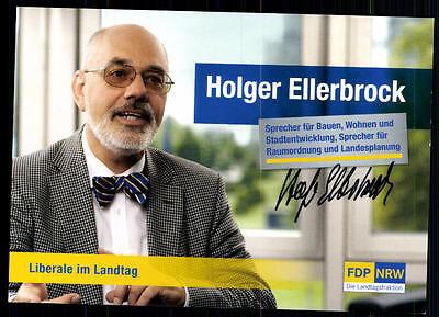 Holger Ellerbrock Autogrammkarte Original Signiert ## BC 39648