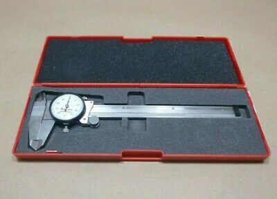 Starrett 120a-6 American Made Dial Caliper 0-6 .001 Graduations Stainless