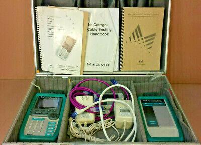 Microtest Penta Scanner Injector Digital Analyzer Set W Case Da03