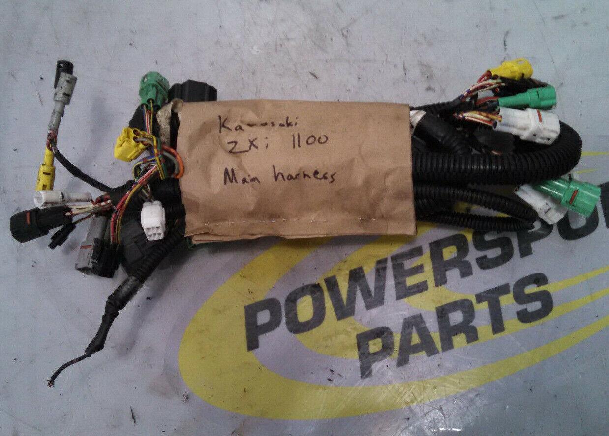 Kawasaki 1100 Main Electrical Main Wiring Harness ZXI 750 900 STS 96-03 OEM
