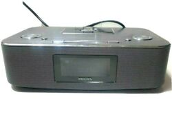 Philips DC290B/37 iPod iPhone Alarm Clock Speaker Dock GREAT CONDITION