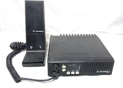 Motorola Model D44mja77a3ck Maxtrac Mobile Radio Base Station Mic Hmn3000b-9633