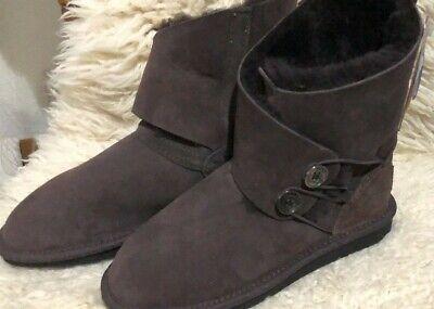 CLEARANCE - Jumbo UGG Boots- Chocolate -US 6 -Made In Au