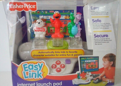 2007 FISHER PRICE EASYLINK Internet Launch pad for kids--New in original box!