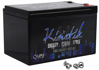 New Kinetik HC400-BLU 400 Watt Car Audio High Current Blue Power Cell/Battery
