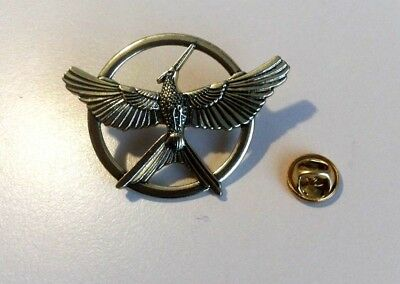 New Hunger Games Gold Bronze Katniss Mockingjay Pin Brooch Replica Prop