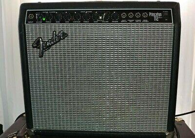 Fender Princeton 112 Plus Guitar Amp Amplifier 180 Watts PR 290 USA MADE Reverb