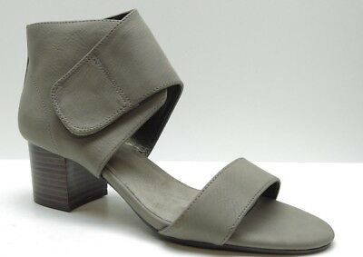 Aerosoles Midpoint Taupe Open Toe Sandal Dress Pump Heels with Ankle Wrap 6.5