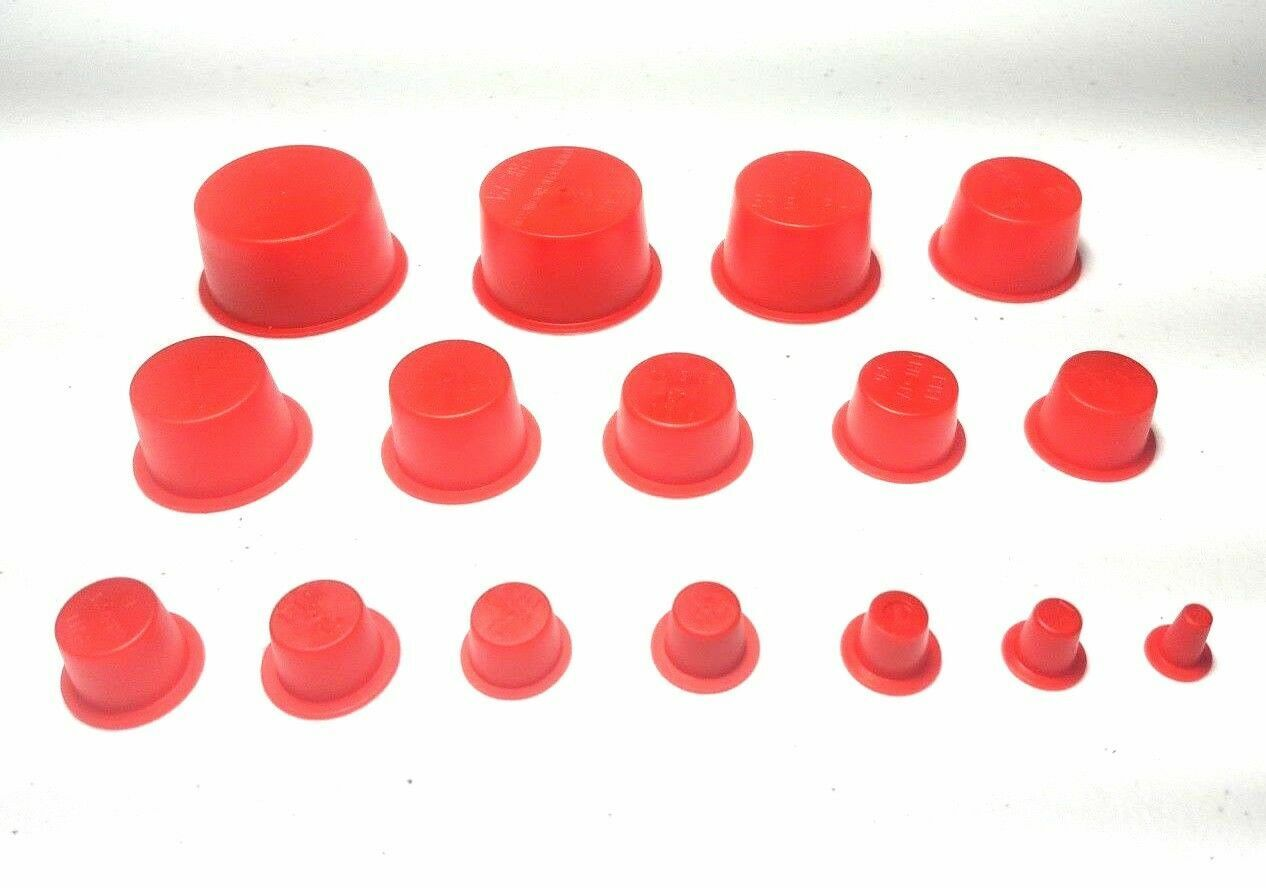 Car Parts - Auto Car Parts Tapered Plugs Caplugs Assortment Sets 16 Sizes 0.17-1.36 Inch