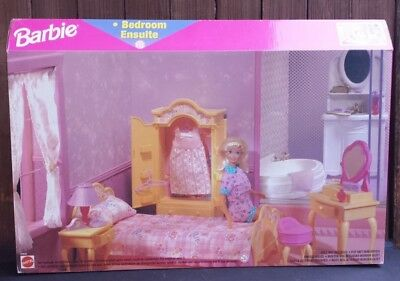 Bedroom Set for Barbie Doll Furniture Ensuite My House Dream House Happy Family