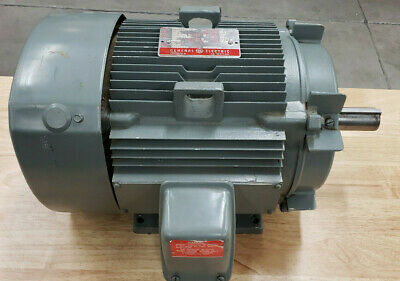Ge 5k215bl205c Ac Electric Motor --3 Phase 10 Hp 215t Frame 1745 Rpm 230460